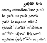 what expressions was initially beowulf earlier created in